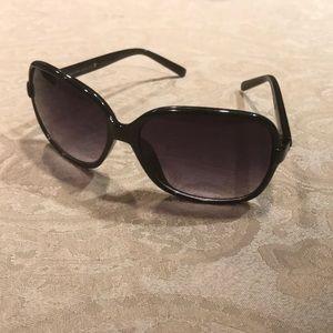 Calvin Klein black sunglasses.